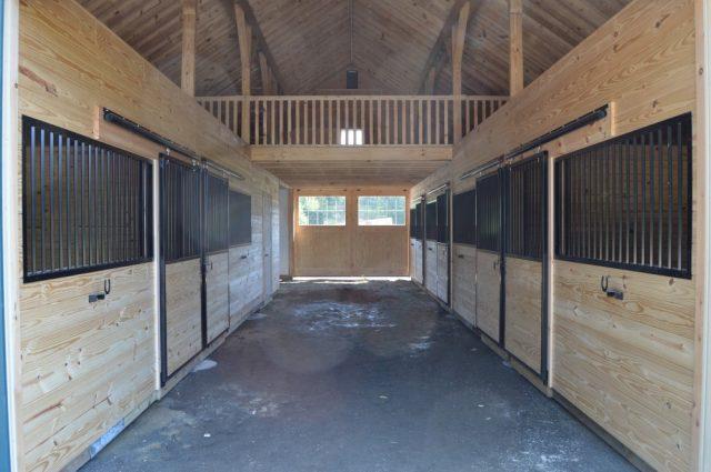 Custom Horse Barn in Scottsville, VA