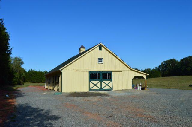 Lean-To Barn – Scottsville, VA