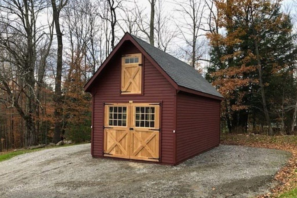 Small custom storage shed