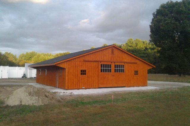 Modular Barn – Townsend, MA