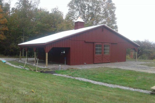 Modular Barn – Croydon, NH