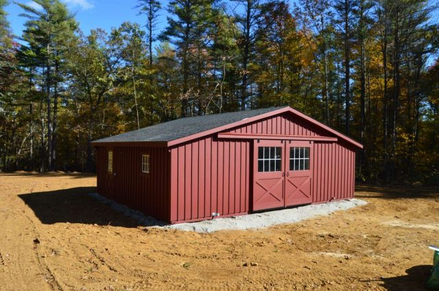 Modular Barn – New Braintree, MA