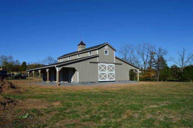 Modular Barn – Middletown, VA