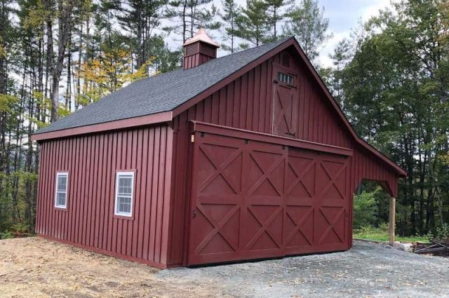 Gorgeous Garages That Look Like Barns