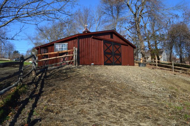 Modular Barn – West Newbury, MA