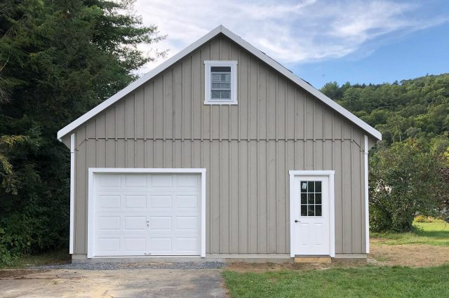 Double Wide Garage – Springfield, VT