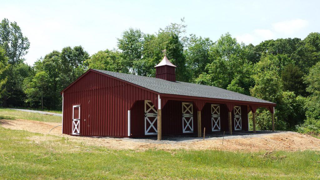 Best horse barn design for 3 horses