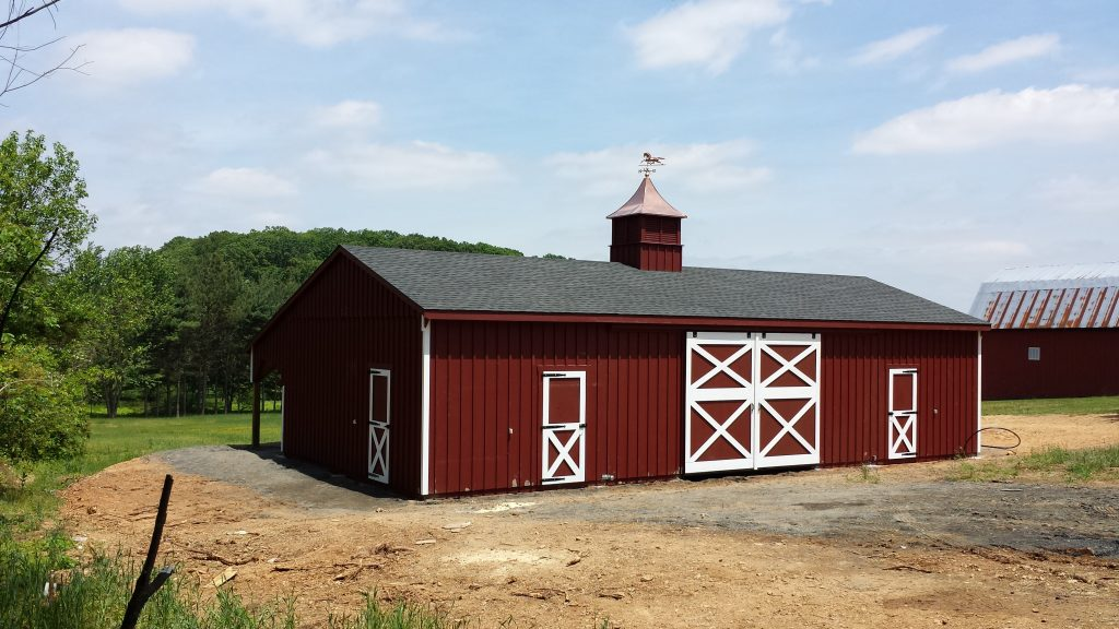 Best horse barn design with several stalls