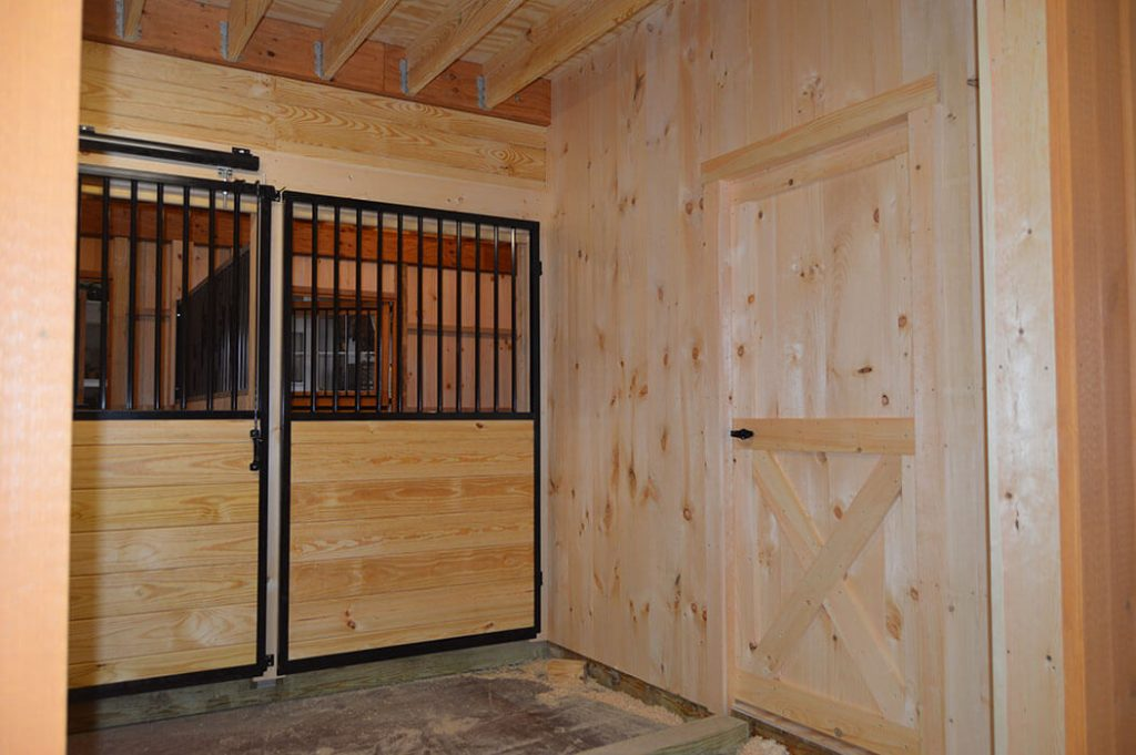 Inside the best horse barn design