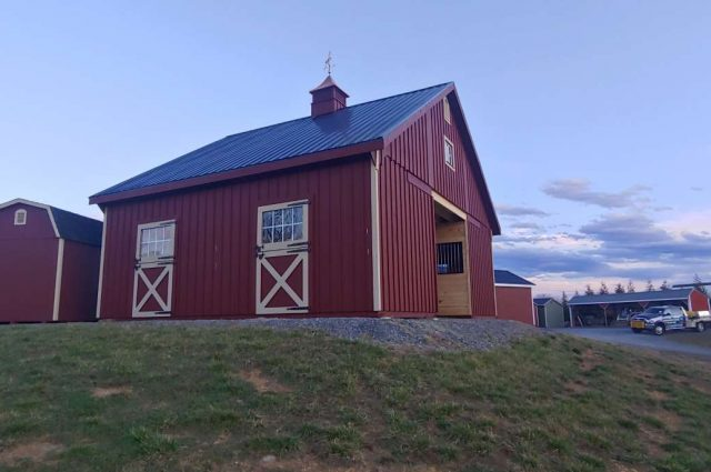 Modular Barn – White Post, VA