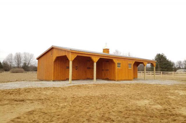 Shed Row Barn – Pinkney, MI