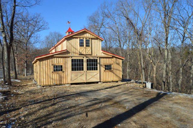 Modular Barn – Romney, WV