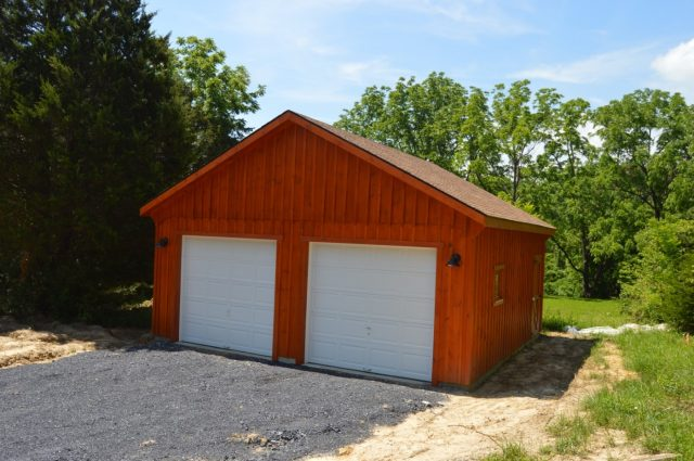 Prefabricated Garage – Fort Valley, VA