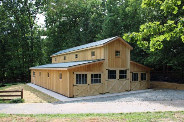 Modular Barn – Manassas, VA