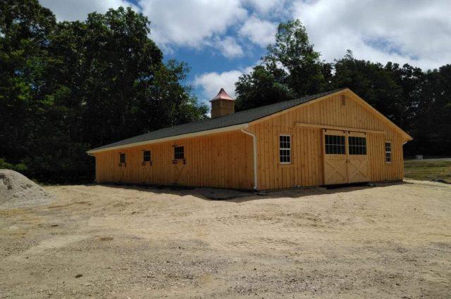 Modular Barn – North Stonington, CT