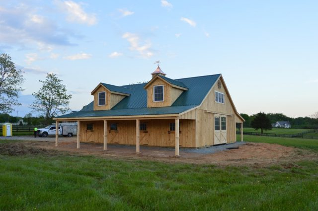 Modular Barn – Purcellville, VA