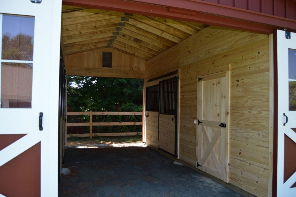 Indoor horse stable ideas