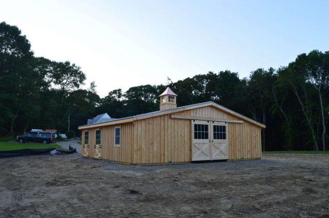 Modular Barn – Wakefield, RI