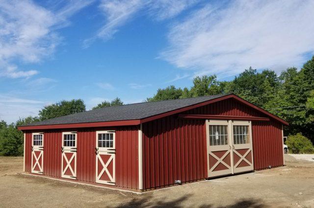 Modular Trailside Barn – Milton, NH