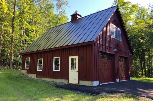 Garage Prefab – Hanover, NH