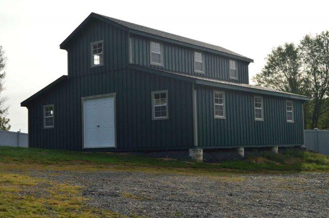 Modular Barn -Shermans Dale, PA