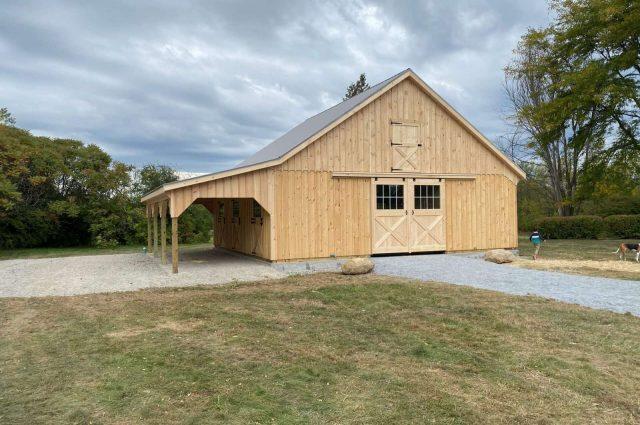 Modular Barn – Charlotte, VT