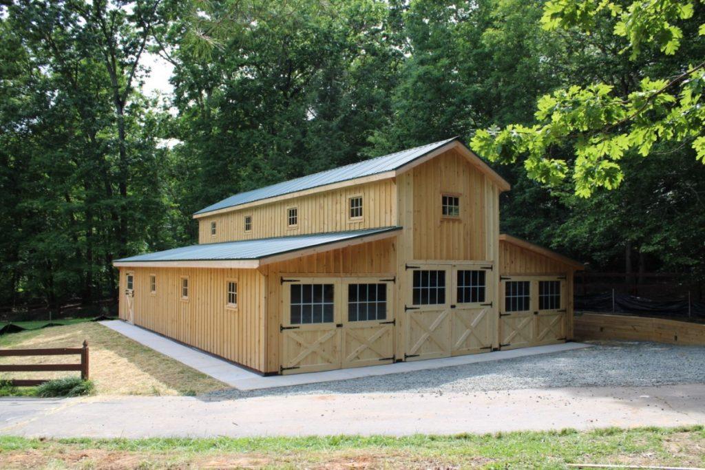 New england barn in VT