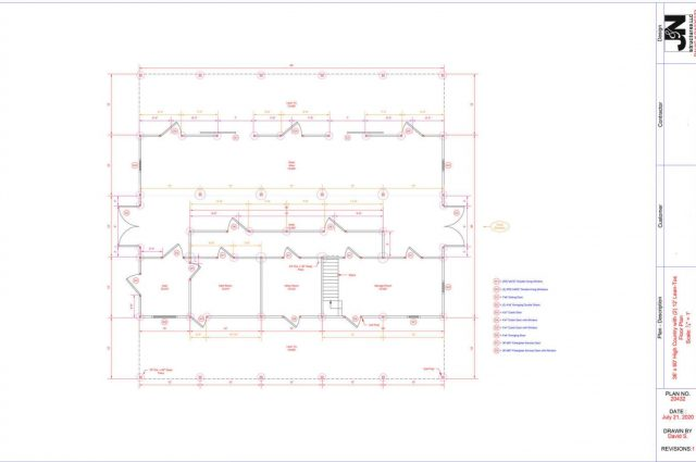 Large---36x60-High-Country-with-(2)-12-Lean-To--Floor-Plan--Arthurs--Acres--Horizon-Structures--20432