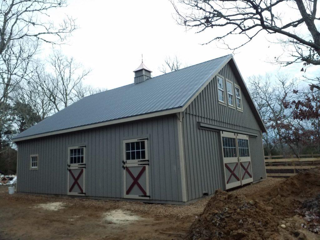 New England barn in MA