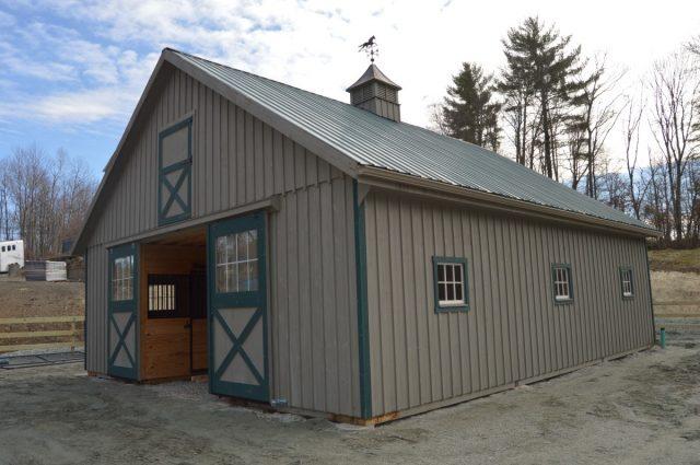Modular Barn – Belchertown, MA