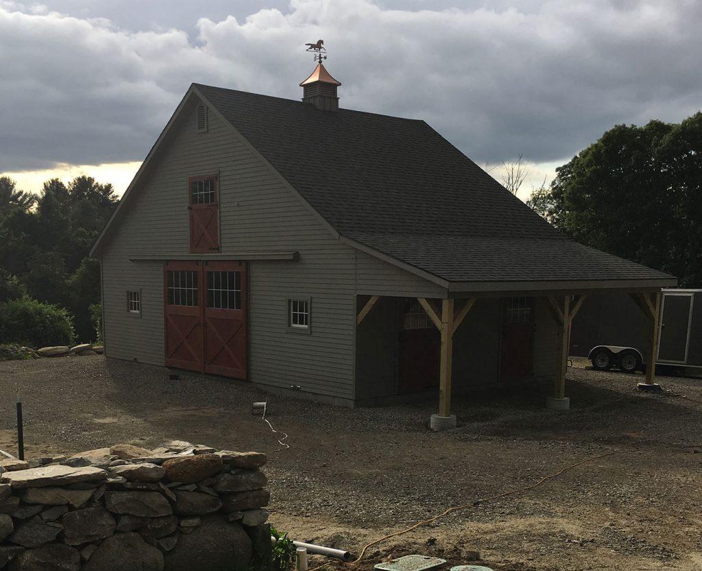 High country barn in RI