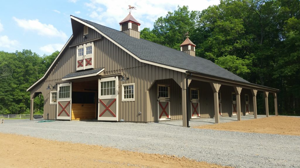 High country barn in New Jersey