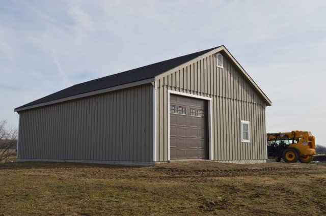 Prefabricated Garage – Middletown, VA