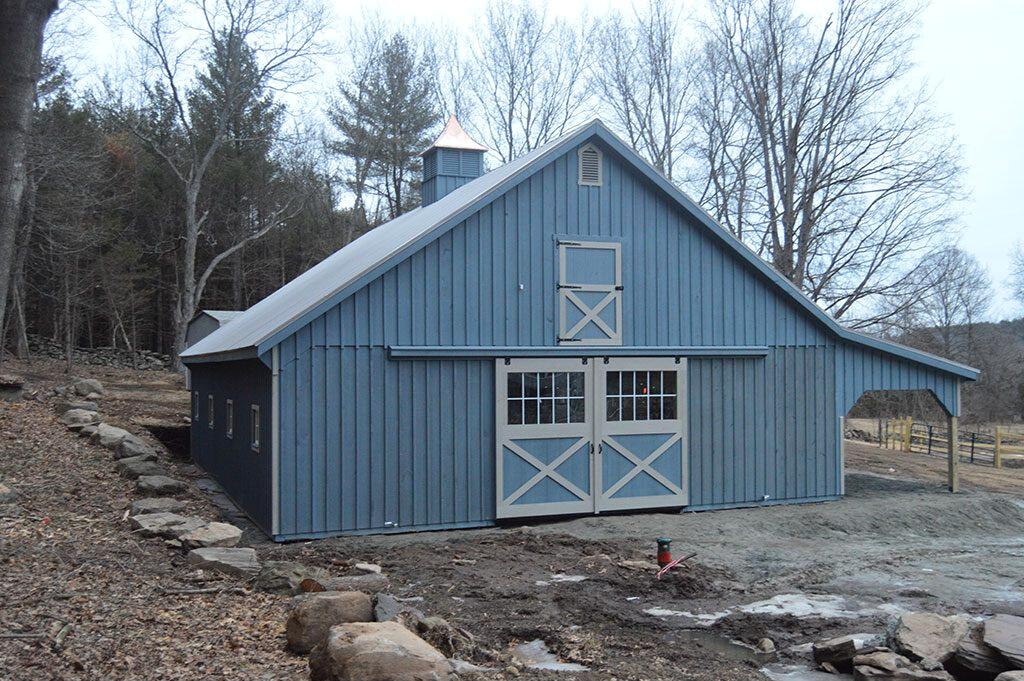 Beautiful horse barn built in MA