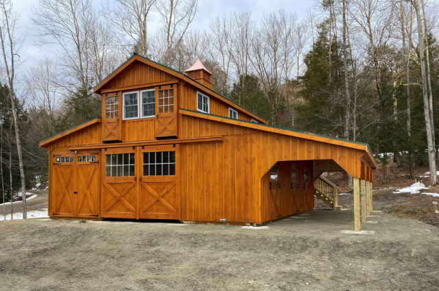 Beautiful Horse Barns: Pictures & Must-Have Traits