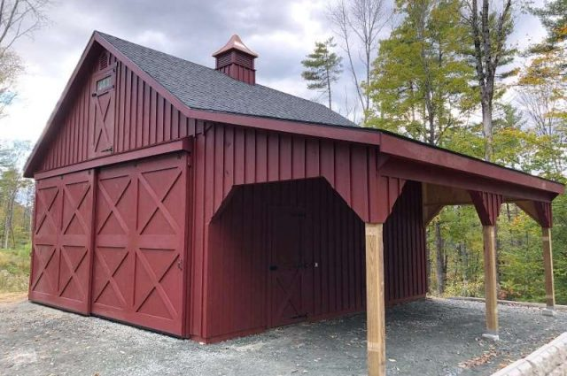 Barn Garages: Must-See Styles You Can Build