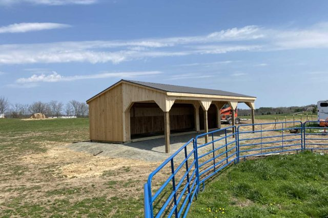 Run-in Shed – Purcellville, VA