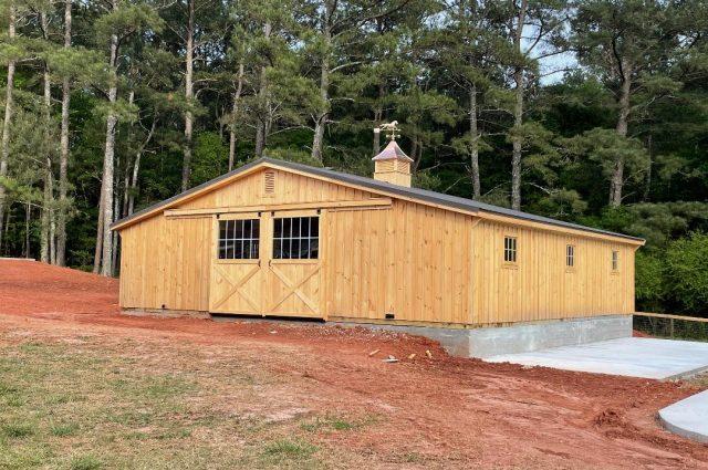 Modular Barn – Monroe, GA