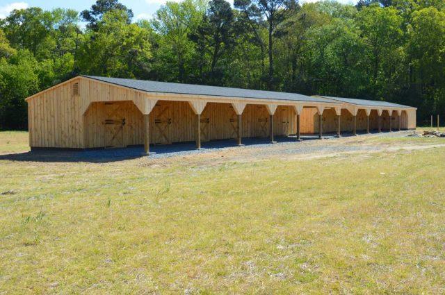 Shed Row Barn – Machipongo, VA