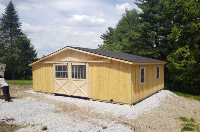 Modular Barn – Pepperell, MA