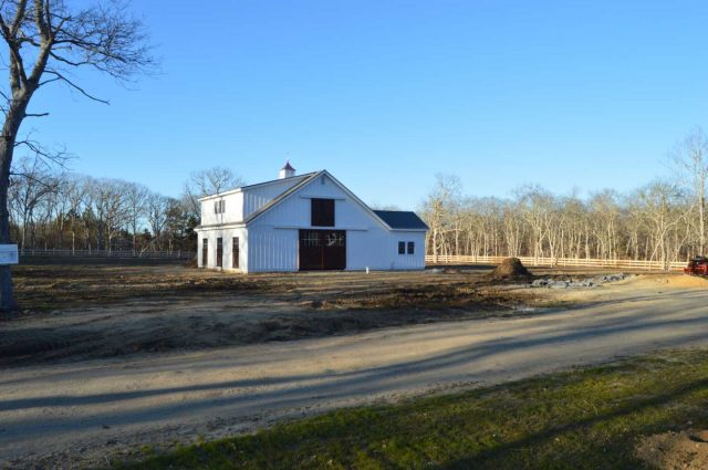 Modular Barn – West Tisbury, MA