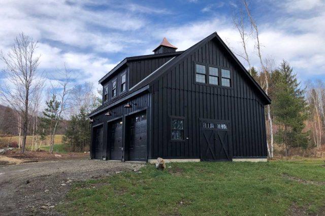 Double-wide Garage – Stowe, VT
