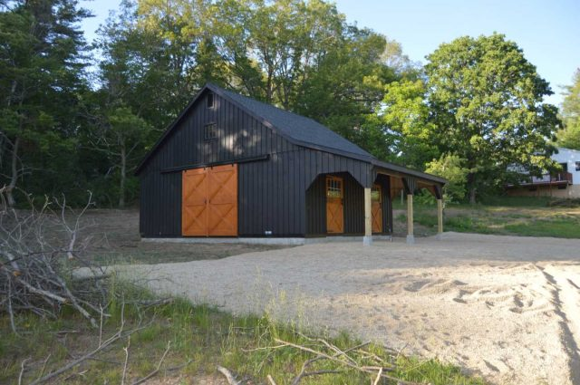 Modular Barn – Nottingham, NH