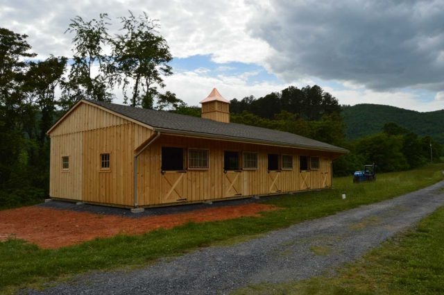 sliding wood barn windows