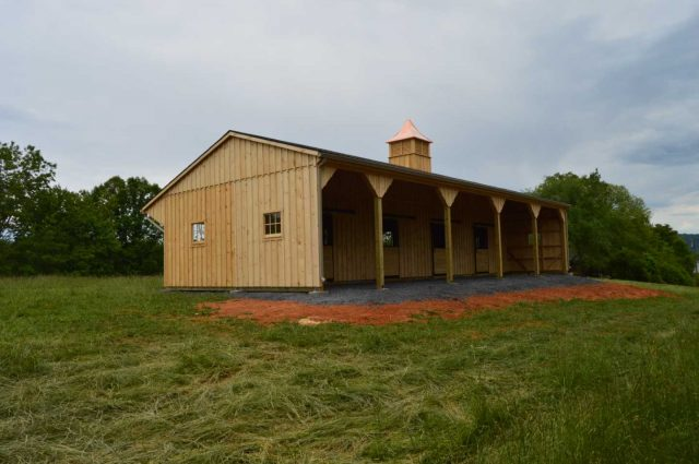 board and batten barn