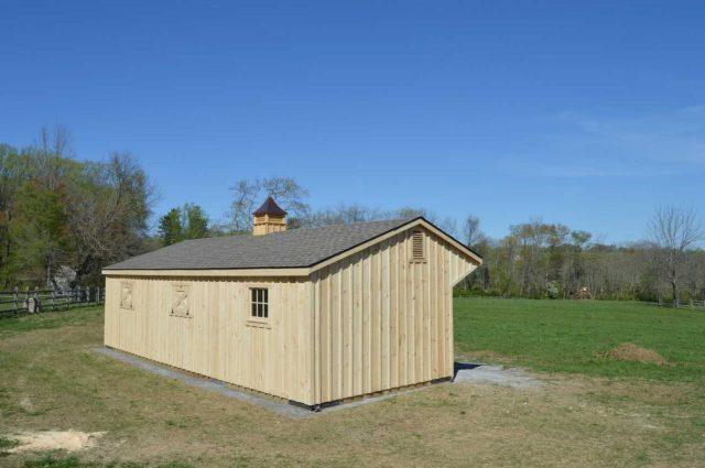wood colored barn roof shingles