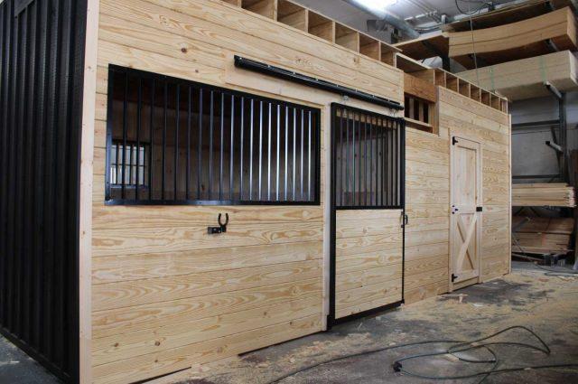 board and batten modular barn