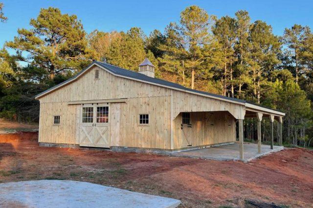 Horse Stall Barns: Options for 4, 5, & 7 Stalls