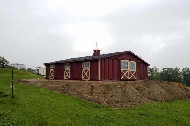 Modular Barn – Pittsfield, NH